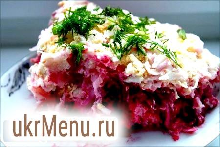 Фото - Класичний новорічний рецепт салату «шуба»