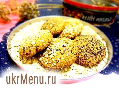 Фото - вівсяне печиво без борошна