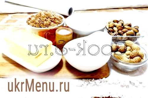 Вівсяне печиво з горіхами