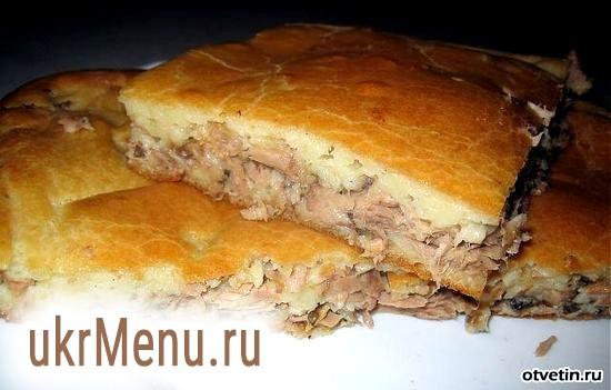 Пиріг з сайра