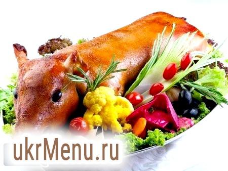 Порося в духовці - центральне блюдо будь-якого столу