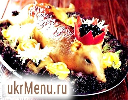 Фото - Порося в духовці - центральне блюдо будь-якого столу