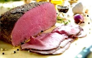 Фото - ростбіф з яловичини