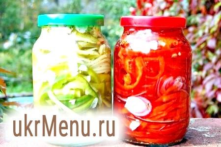 Рецепт маринованого болгарського перцю