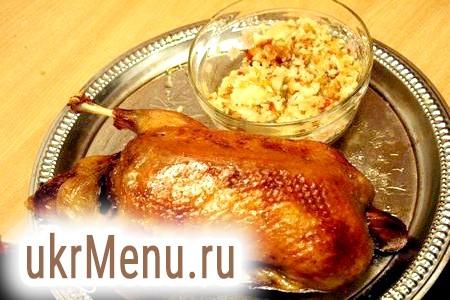 Рецепт приготування індоуткі в духовці