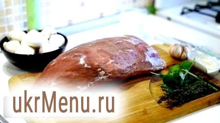 Рецепт приготування лангету з яловичини