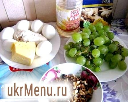 Рецепт приготування салату