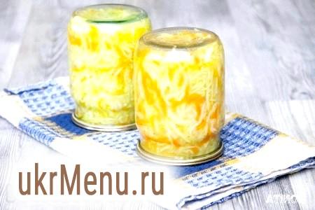 Рецепт салату з кабачків на зиму