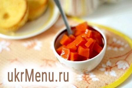 Рецепт гарбузового варення