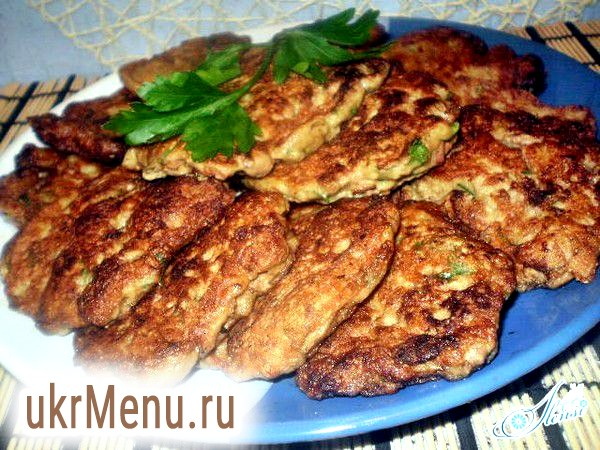 Рецепти смачних і швидких оладок з курячої печінки