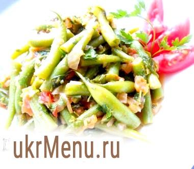 Салат із стручкової квасолі по-грецьки