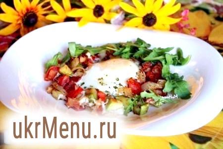 Шакшука - єврейська яєчня-Глазунов з помідорами