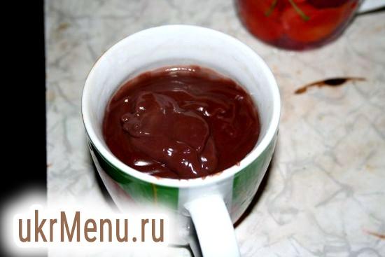 Шоколадний пудинг