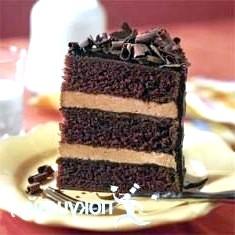 Шоколадний торт «бумеранг»