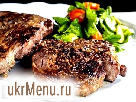 Стейк з яловичини: рецепт приготування