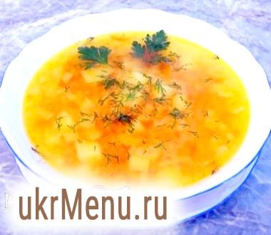 Суп з червоної сочевиці