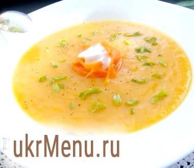 Суп-пюре з овочів (дієтичний)