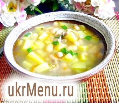 Суп з консервованої квасолею