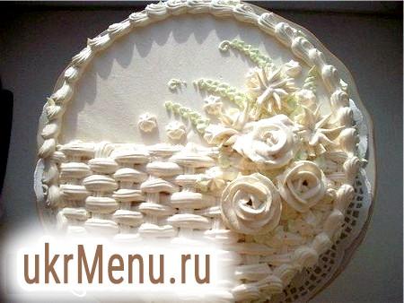 Торти з крему з фото: приготування і прикраса