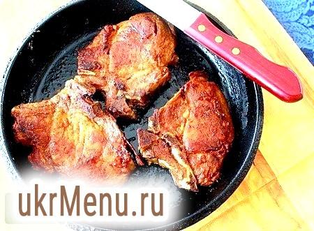 Смачні рецепти смаженої свинини на сковороді